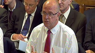 Sir David Nicholson defended NHS managers' salaries that can top £200,000 a year.