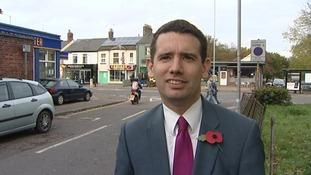 Norwich South Lib Dem MP Simon Wright