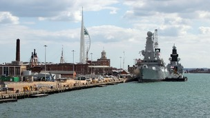 Around 1700 jobs could be lost in the defence industry, mainly on the south coast.
