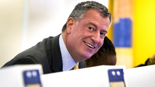 Liberal Democrat Bill de Blasio has won the race for New York City Mayor.