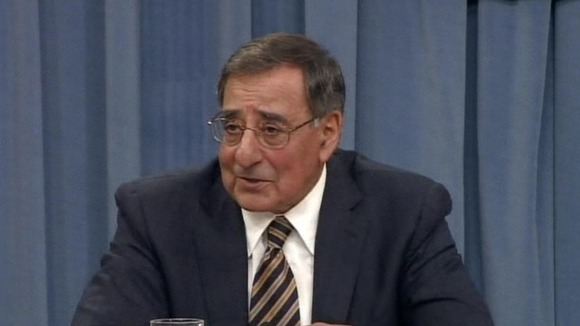 US Defence Secretary Leon Panetta in a press briefing.