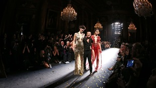 Julien MacDonald with models