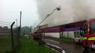 Llandow fire