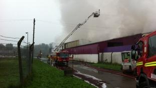 Llandow fire