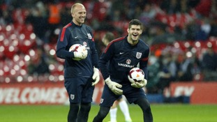John Ruddy has been called up the England squad to face Chile and Germany.