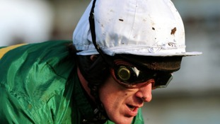 Tony McCoy has made history at Northamptonshire's Towcester racecourse.