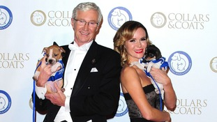 Event hosts Paul O'Grady and Amanda Holden.