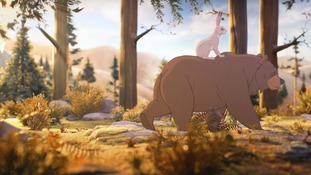 Disney style: A scene from the John Lewis upcoming Christmas ad campaign