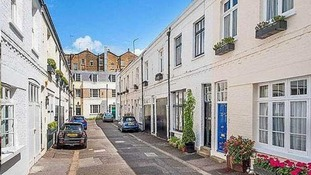 Burton Mews in Kensington and Chelsea