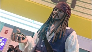 """Johnny Depp"" has been entered in the large decorative exhibit section of the competition"