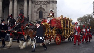 The Lord Mayor's coach actually broke down last year and has to be towed.