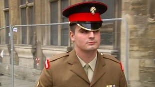 Lance Corporal Liam Culverhouse admitted to killing his daughter.