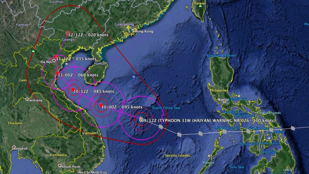 Typhoon Haiyan Its Impact And Track Itv News