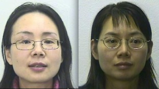 Bo Li (left) and Yan Li are now back behind bars