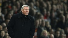 Sir Alex Ferguson at Old Trafford