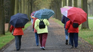 Sunny spells and showers expected