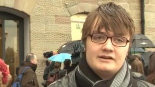 A movie hopeful turned away from today's auditions in Bristol