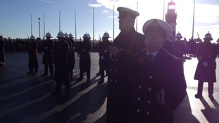 Remembrance Sunday in Plymouth