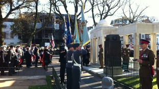 Remembrance Day in Brighton