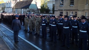 Remembrance Day in Oxford