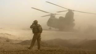 Helmand Province, Afghanistan.