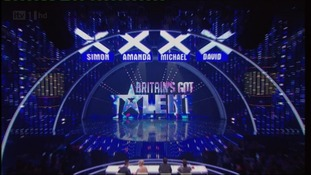 Britain's Got Talent stage