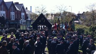 Sapper Conor Ray funeral