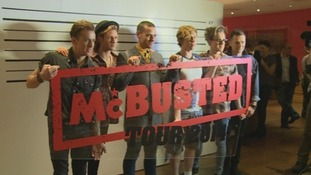 McFly and Busted join forces to create supergroup McBusted