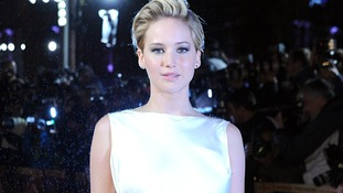 Jennifer Lawrence stars in the Hunger Games sequel, Catching Fire.
