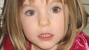 Madeleine McCann, who went missing while on holiday in Portugal.
