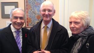 Al Stewart with history teacher J.R.G.Edwards MA (Oxon) - or Robin.