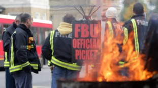 Firefighters will be striking once more over pensions