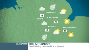 EAST MIDLANDS WEDNESDAY WEATHER