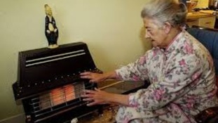 A pensioner suffering from fuel poverty