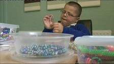 Harry Moseley, raising money for Cancer Research