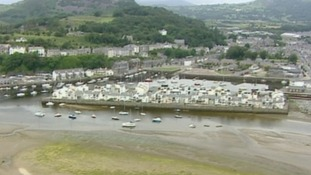 Aerial of Pwllheli