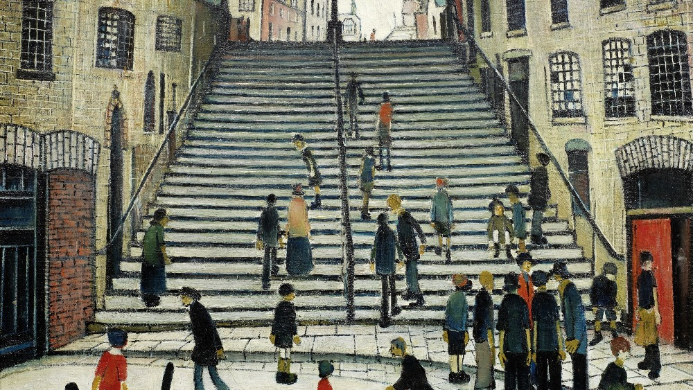Town And Country Auction >> LS Lowry painting goes up for auction | Granada - ITV News