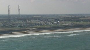 The Bacton terminal brings gas ashore from the North Sea and Europe
