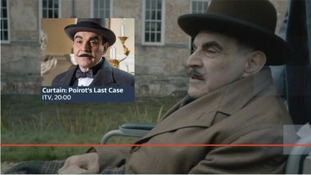 Millions of people are expected to tune into ITV tonight to watch Hercule Poirot's last ever case.
