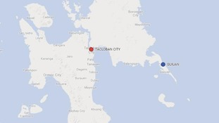 Guiuan lies on the eastern edge of the central Philippines