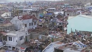 The aftermath of Typhoon Haiyan in Guiuan, central Philippines