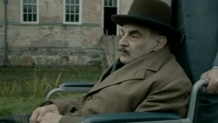 Hercule Poirot finished his life in a wheelchair.