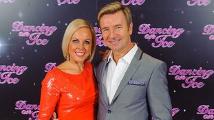 Olympic Skating stars Jayne Torvill and Christopher Dean.