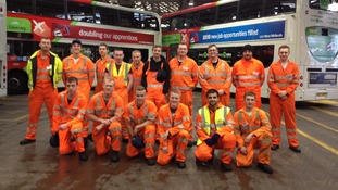 The apprentices at National Express