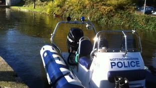 The divers are searching Castle Marina in Nottingham