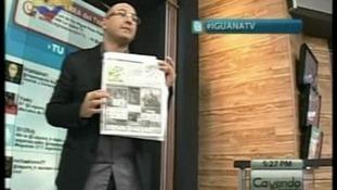 Venezuelan TV pundit Perez Pirela