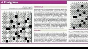 The crossword at the centre of the 'assassination' controversy in Venezuela