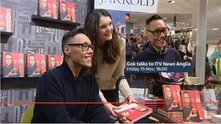Gok Wan talks to ITV News Anglia on tonight's programme.