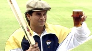 Sachin Tendulkar is welcomed as Yorkshire's first overseas signing