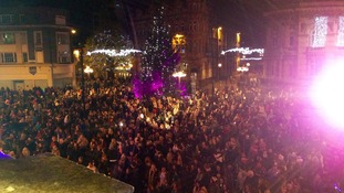 Thousands gathered for Hull's Xmas lights switch-on